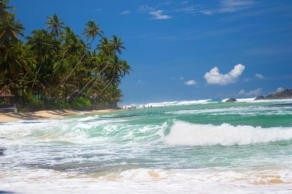 Пляж Унаватуна в Шри-Ланке, фото 14