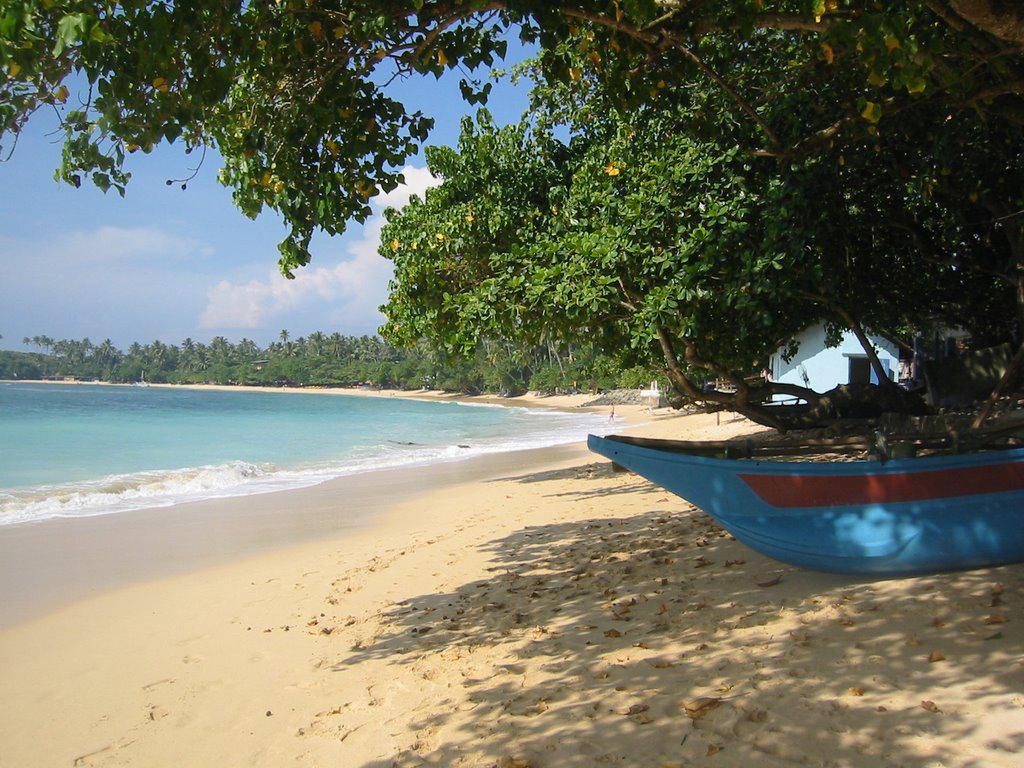 Пляж Унаватуна в Шри-Ланке, фото 16