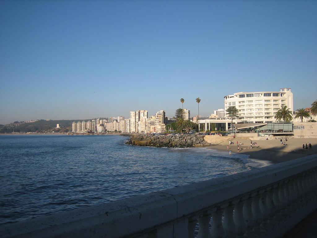 Пляж Винья-дель-Мар в Чили, фото 8