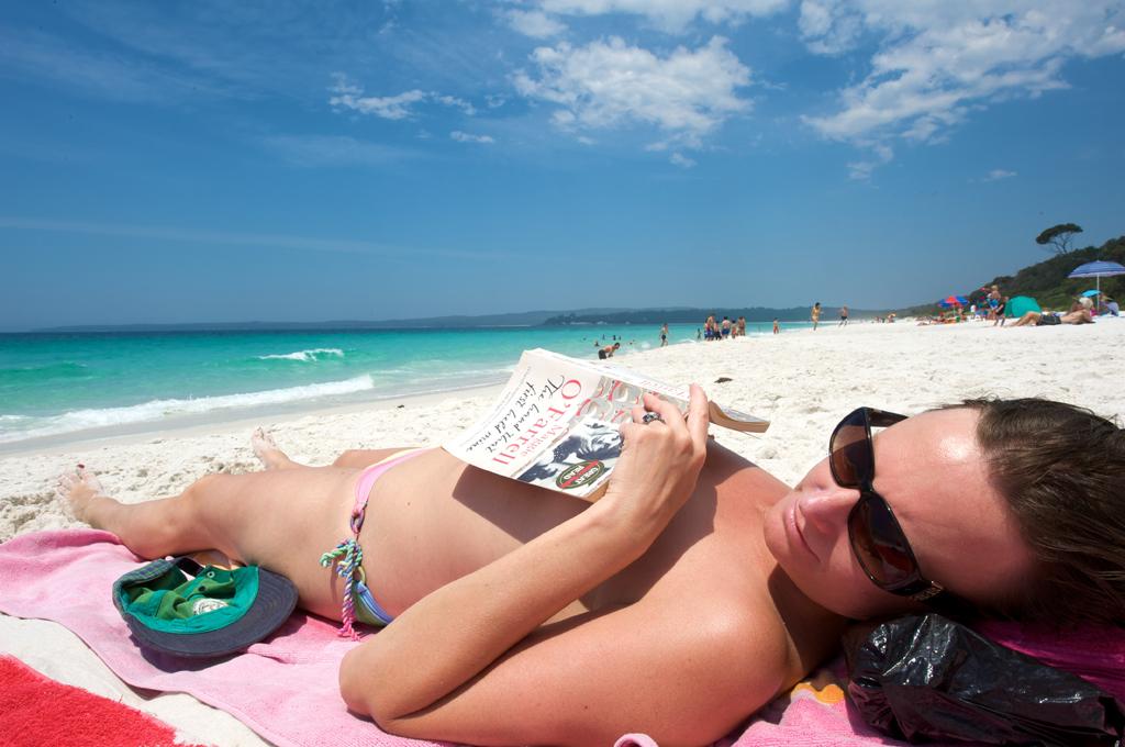 Пляж Хайамс в Австралии, фото 1