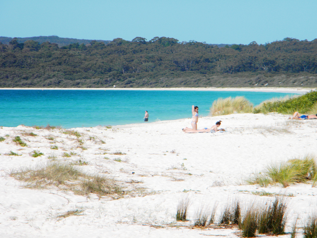 Пляж Хайамс в Австралии, фото 8