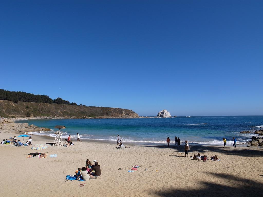 Пляж Альгарробо в Чили, фото 4