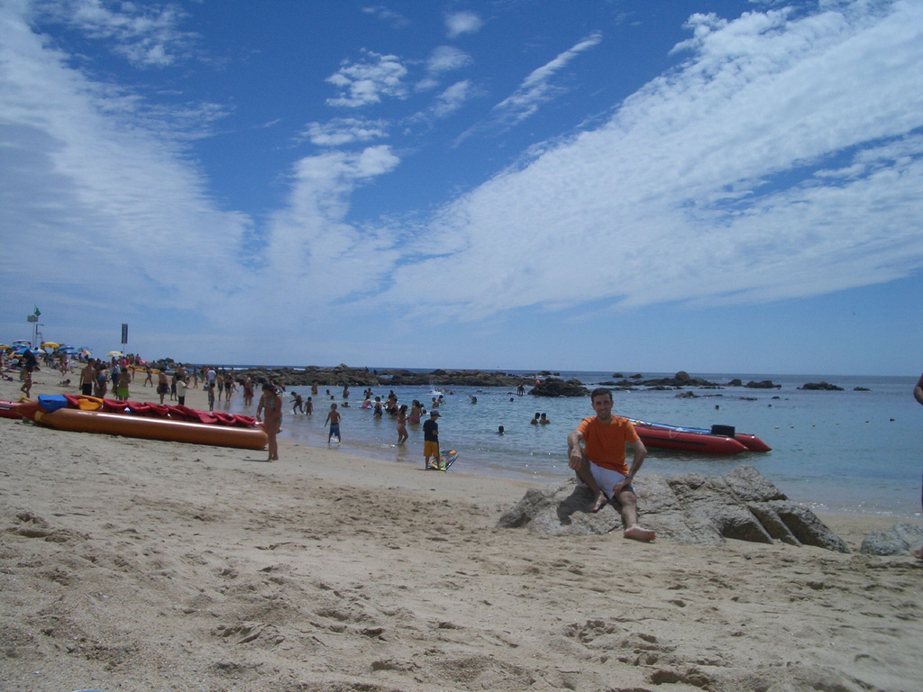 Пляж Альгарробо в Чили, фото 5
