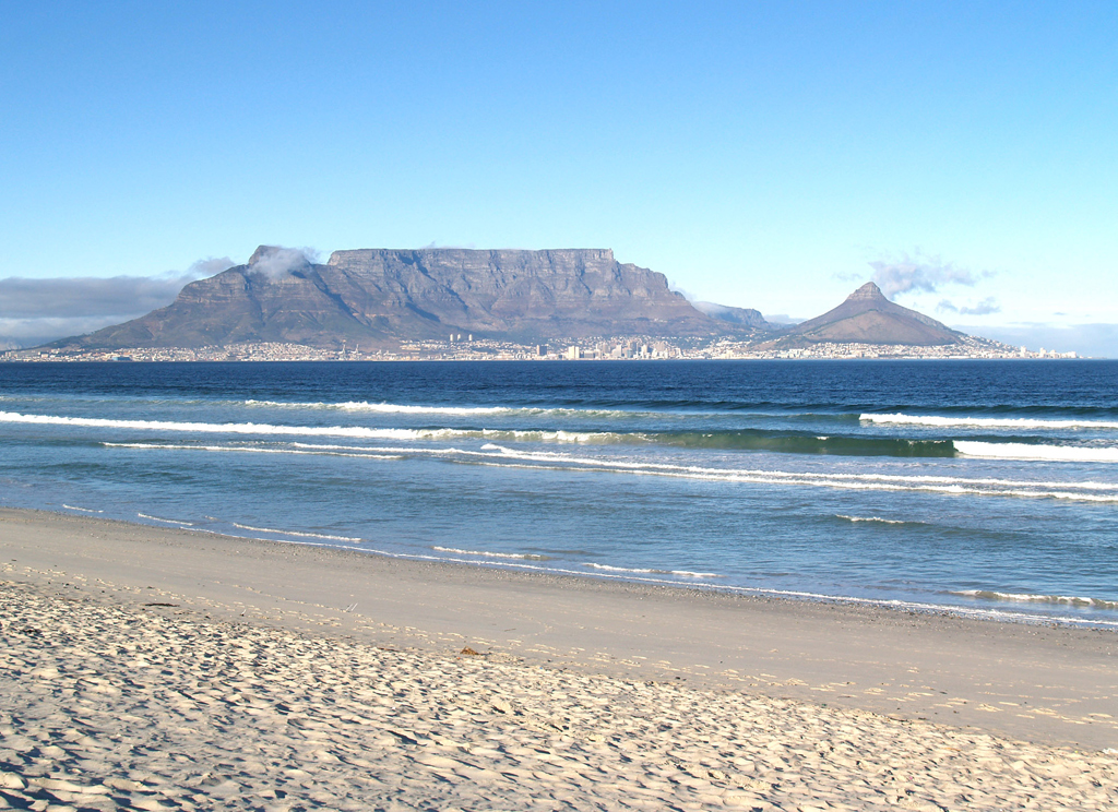 Пляж Блоубергстранд в ЮАР, фото 3