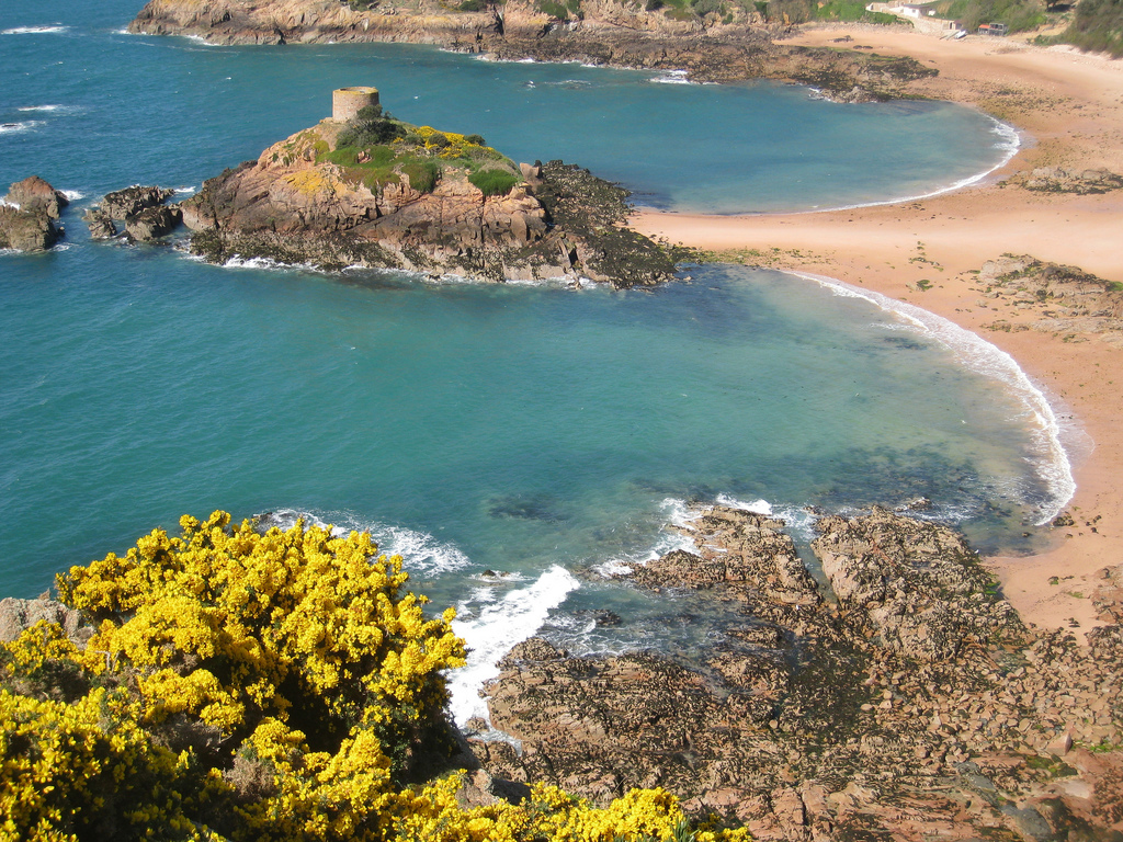Пляж Бухта Портелет в Великобритании, фото 1