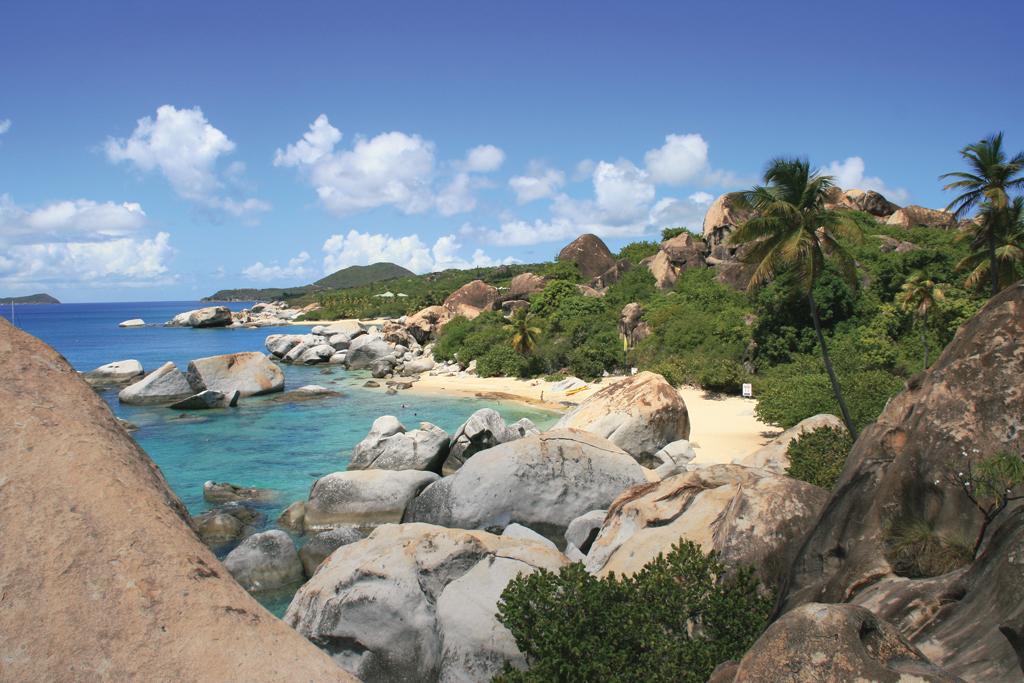Пляж Девилс Бэй на Британских Виргинских островах, фото 2