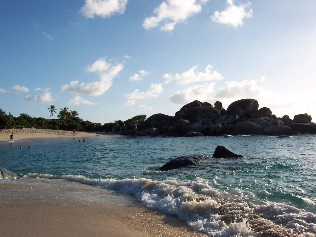 Пляж Девилс Бэй на Британских Виргинских островах, фото 5