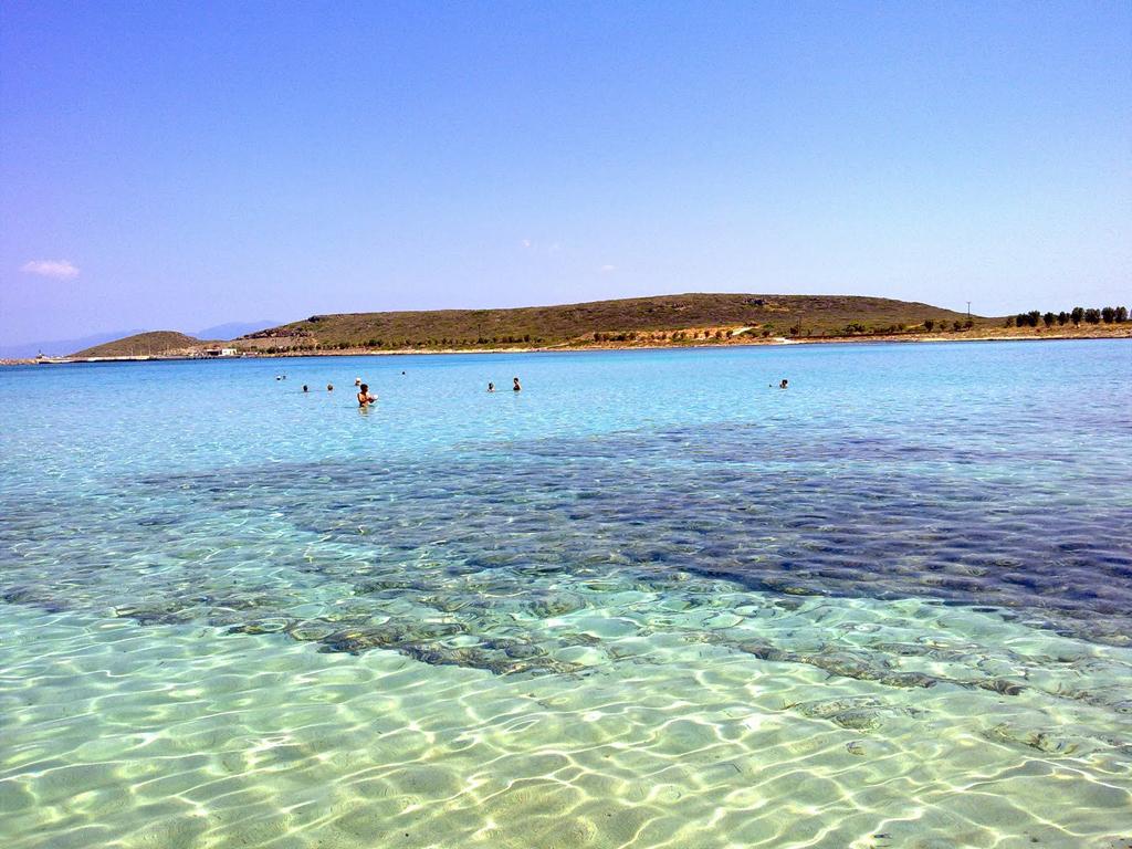 Пляж Диакофти в Греции, фото 7