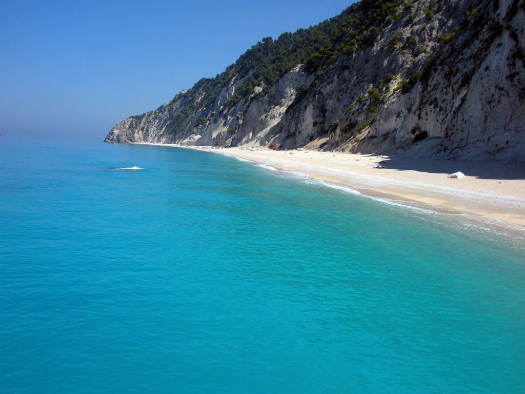 Пляж Эгремни в Греции, фото 7