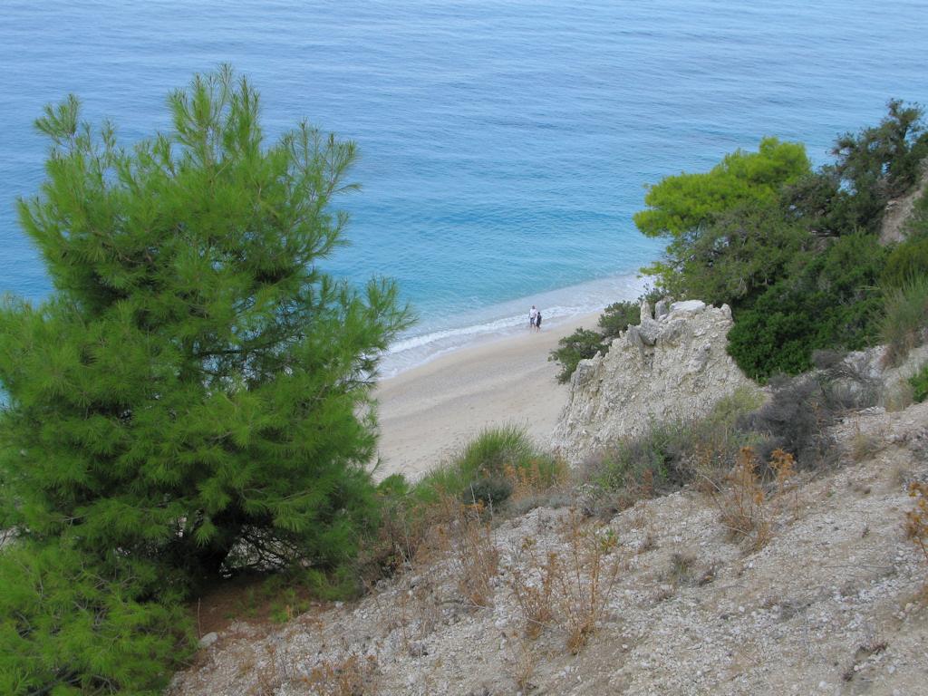 Пляж Эгремни в Греции, фото 10