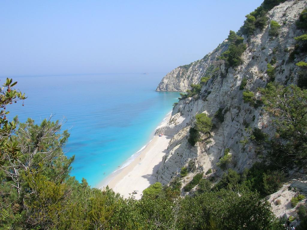 Пляж Эгремни в Греции, фото 11