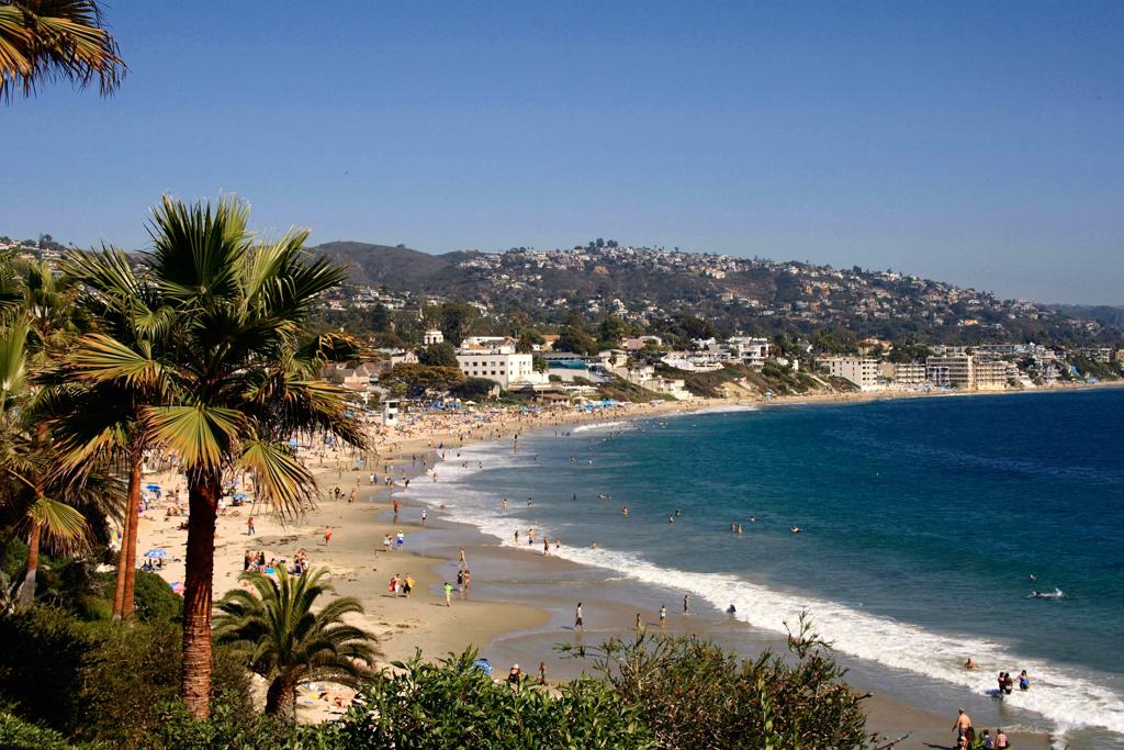Пляж Лагуна Бич в США, фото 6