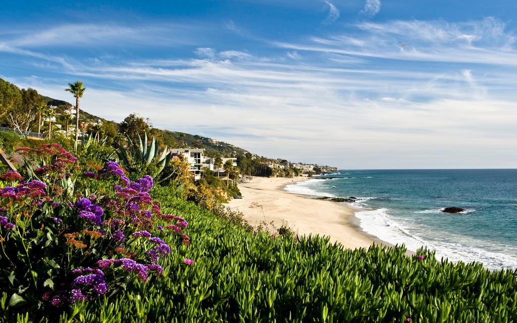 Пляж Лагуна Бич в США, фото 7