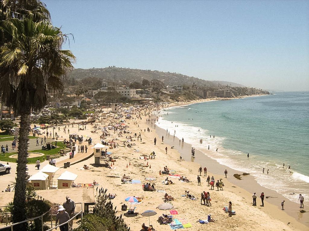 Пляж Лагуна Бич в США, фото 8