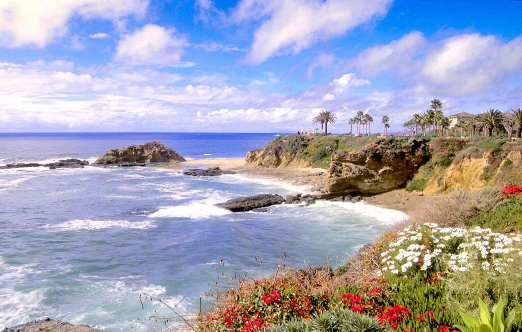 Пляж Лагуна Бич в США, фото 10