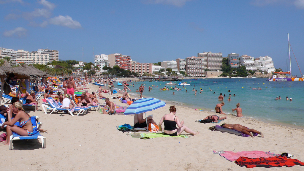 Пляж Магаллуф в Испании, фото 1