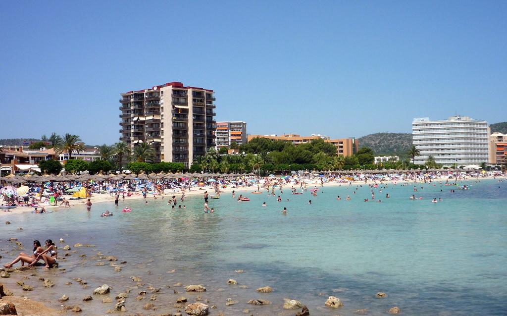 Пляж Магаллуф в Испании, фото 5
