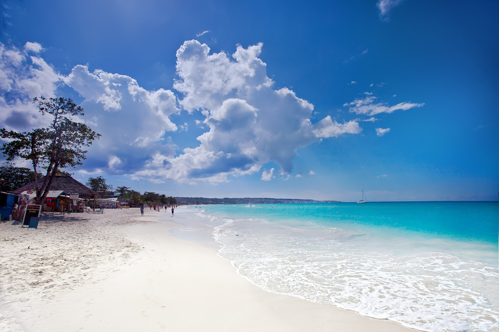 Пляж Негрил на Ямайка, фото 3