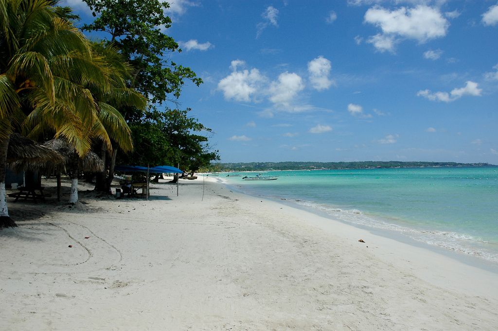 Пляж Негрил на Ямайка, фото 4