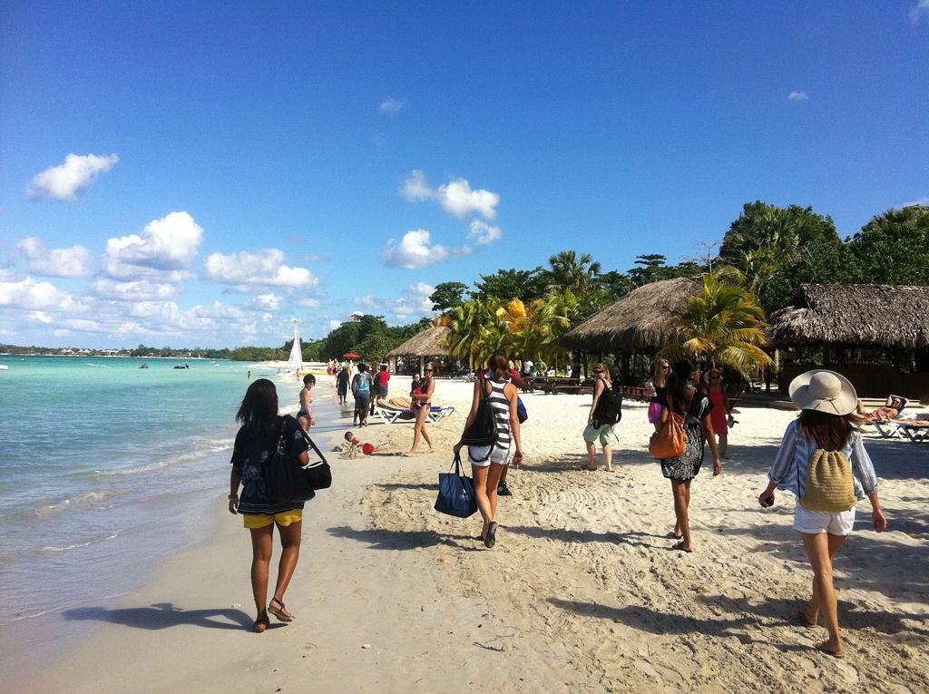 Пляж Негрил на Ямайка, фото 14