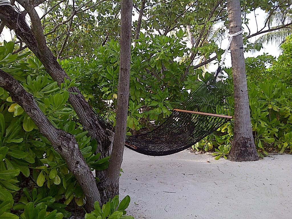 Пляж острова Куда Хураа на Мальдивах, фото 1