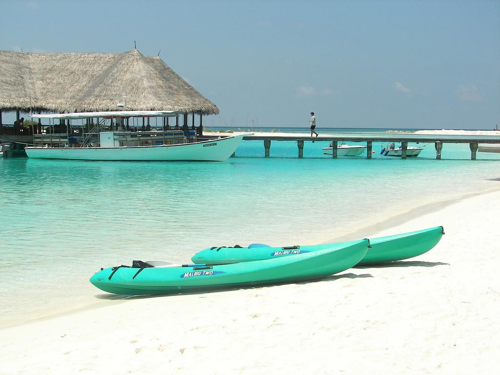 Пляж острова Куда Хураа на Мальдивах, фото 3