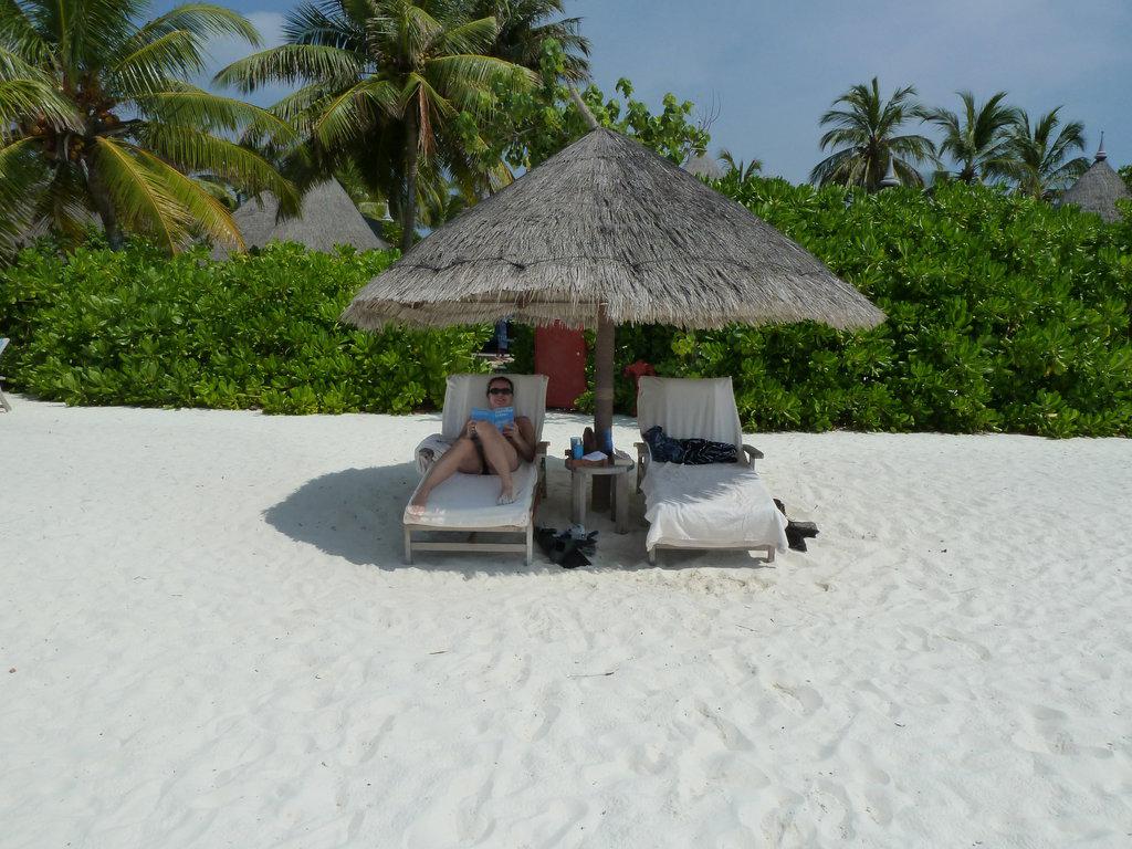 Пляж острова Куда Хураа на Мальдивах, фото 5