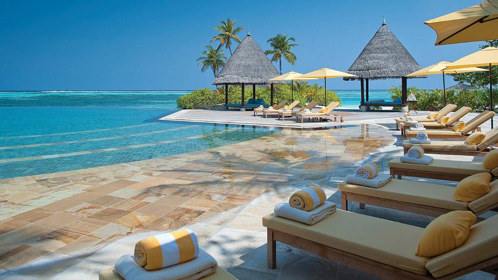 Пляж острова Куда Хураа на Мальдивах, фото 6