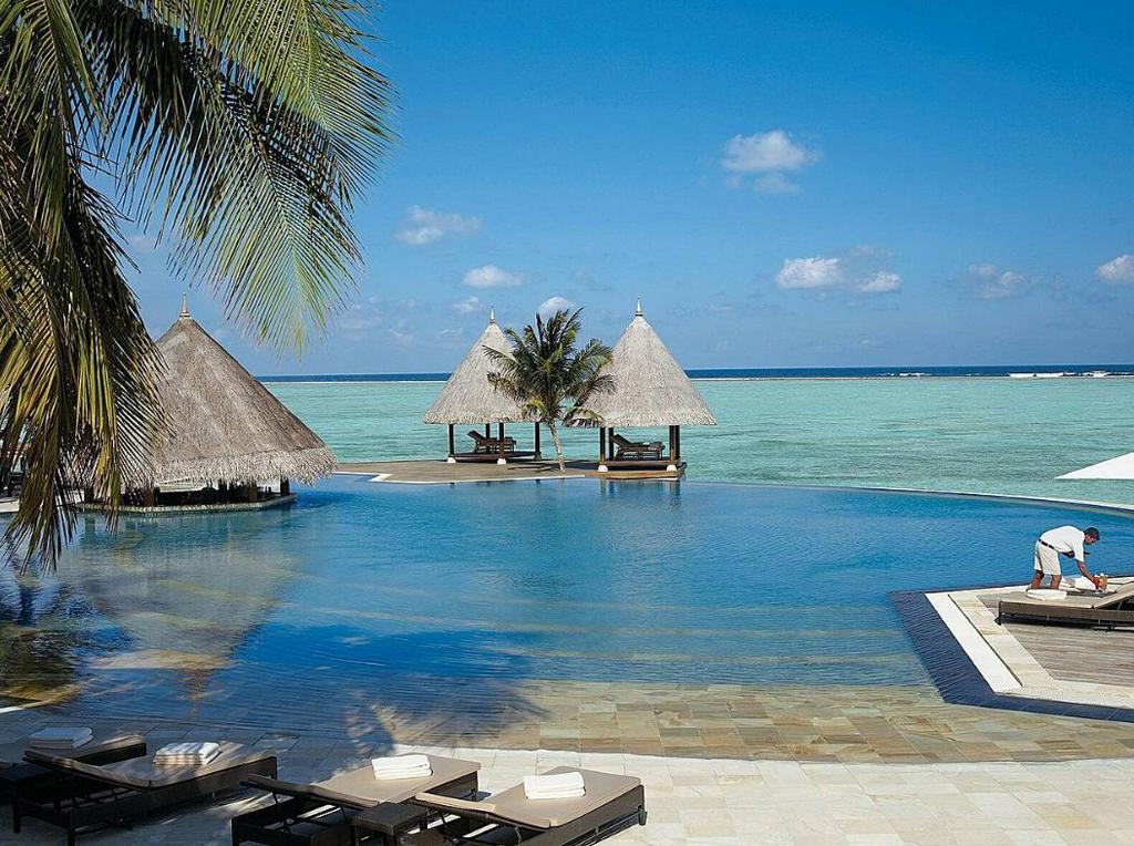 Пляж острова Куда Хураа на Мальдивах, фото 7