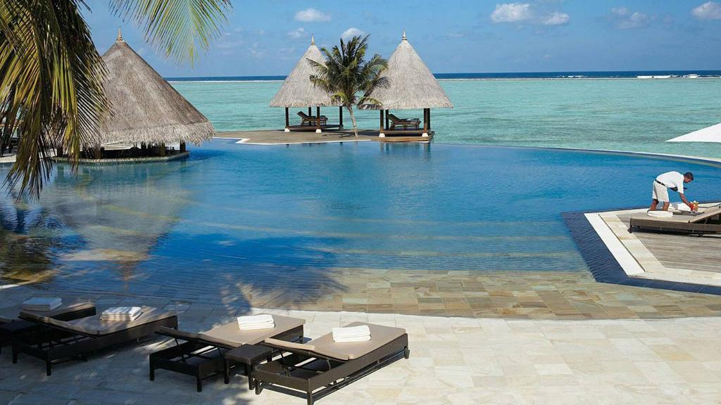 Пляж острова Куда Хураа на Мальдивах, фото 8