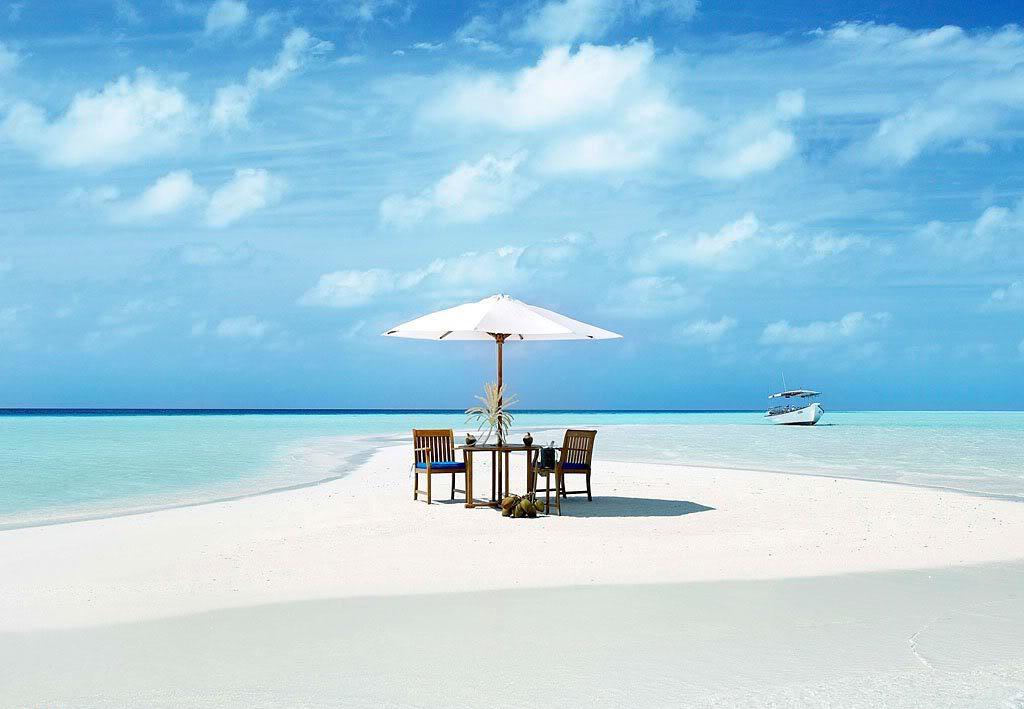 Пляж острова Куда Хураа на Мальдивах, фото 9