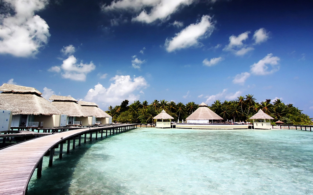 Пляж острова Куда Хураа на Мальдивах, фото 10