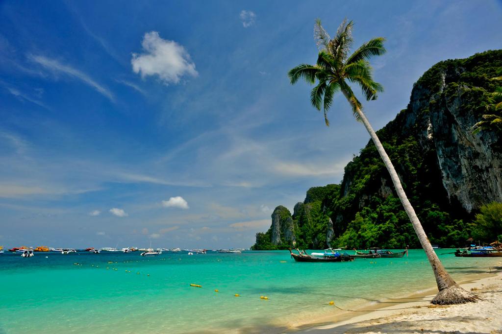 Пляж острова Пи-Пи Дон в Таиланде, фото 4