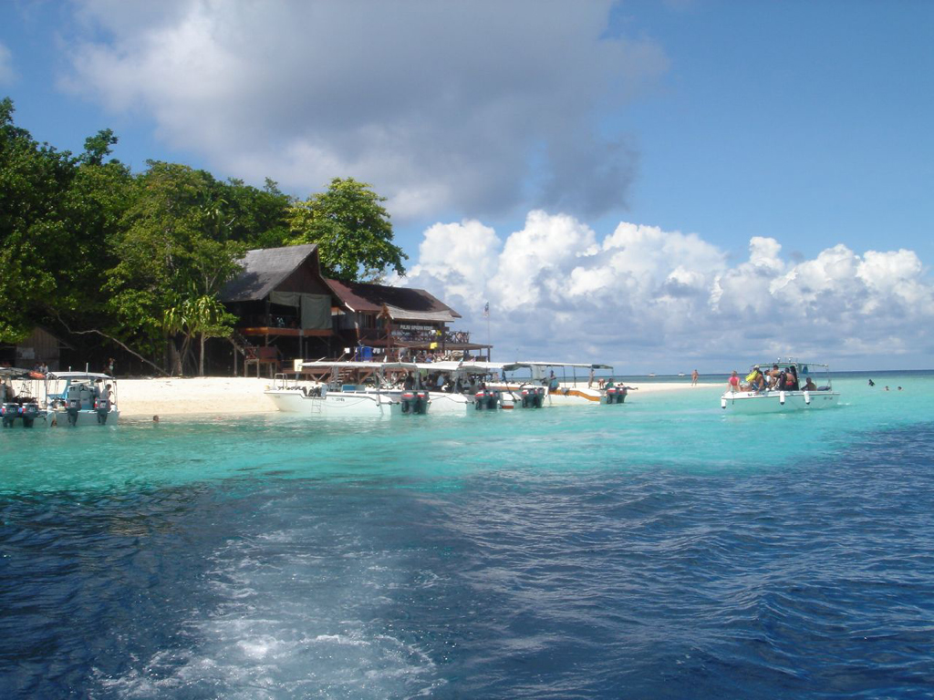 Пляж острова Сипадан в Малайзии, фото 7
