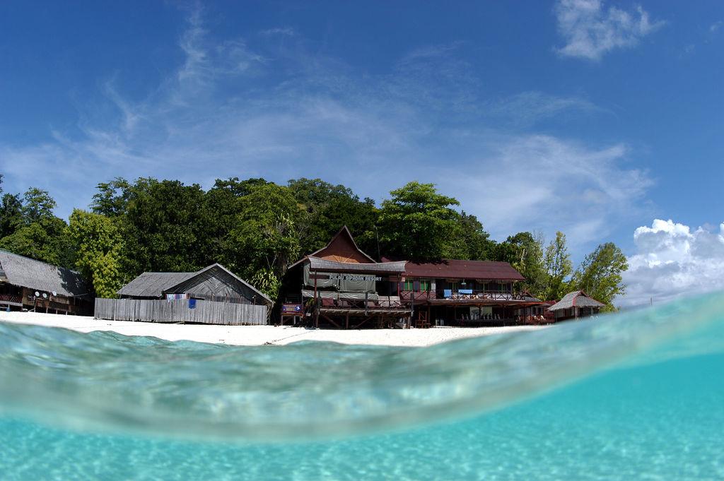 Пляж острова Сипадан в Малайзии, фото 9