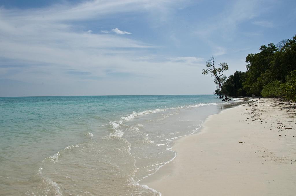 Пляж острова Хавелок в Индии, фото 4