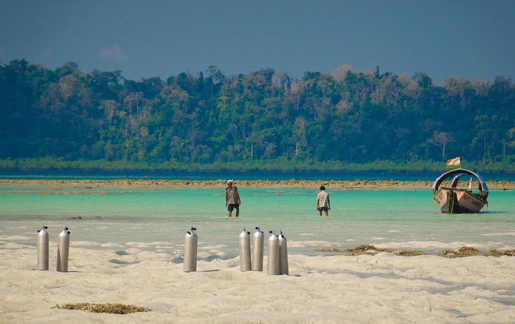 Пляж острова Хавелок в Индии, фото 6