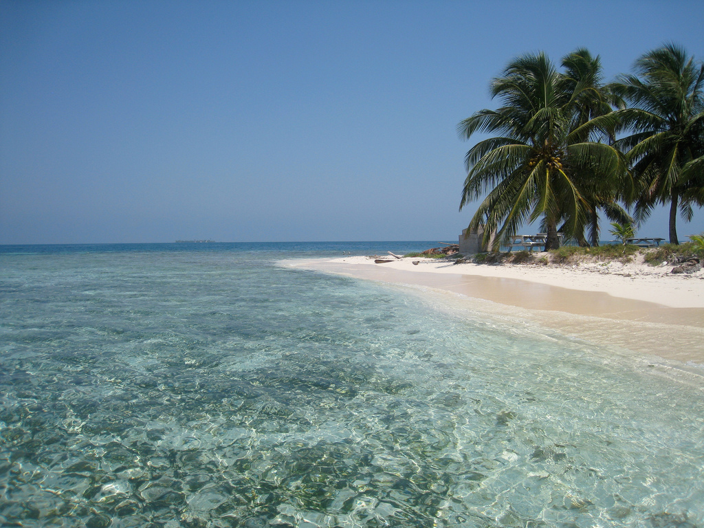 Пляж Пласенсиа в Белизе, фото 3