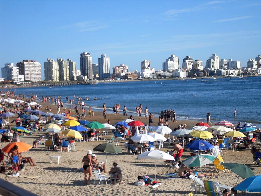 Пляж Пунта-дель-Эсте в Уругвае, фото 4