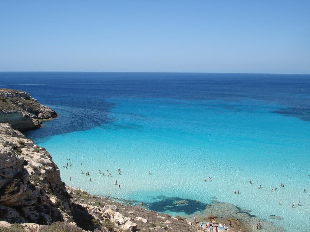 Пляж Рэббит в Италии, фото 3