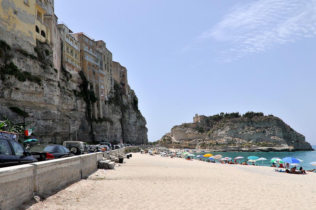 Пляж Тропея в Италии, фото 3