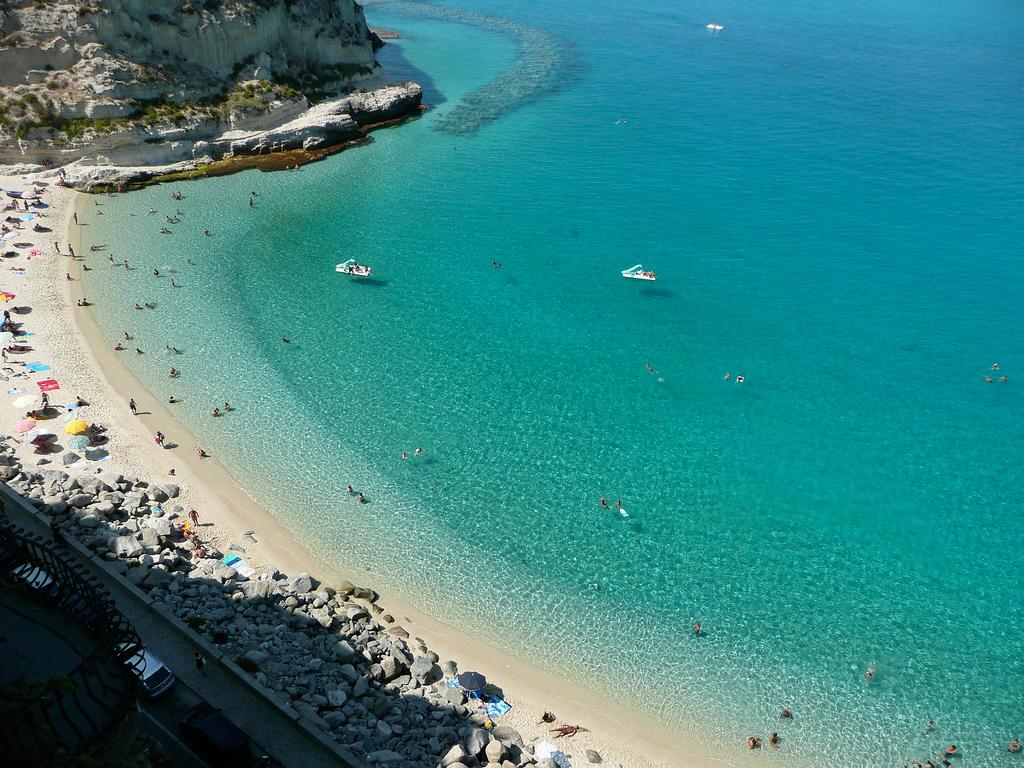 Пляж Тропея в Италии, фото 7