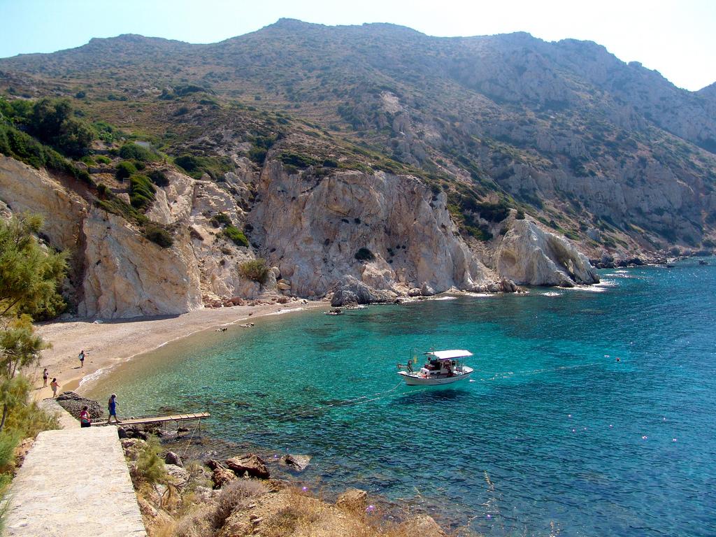 Пляж Врулидия в Греции, фото 4