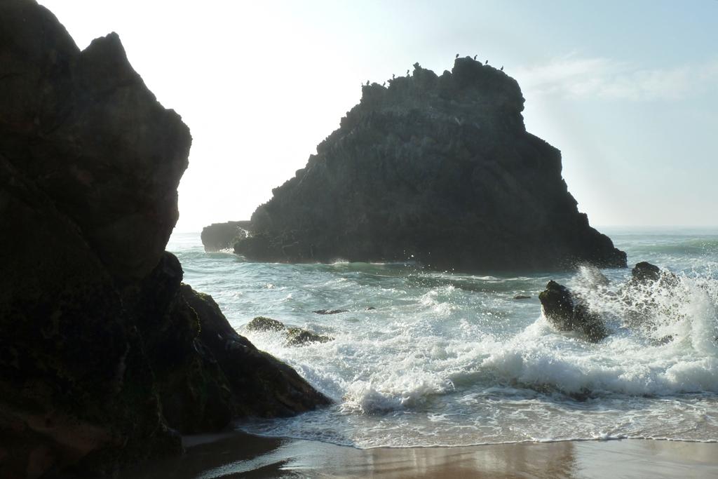 Пляж Адрага в Португалии, фото 7