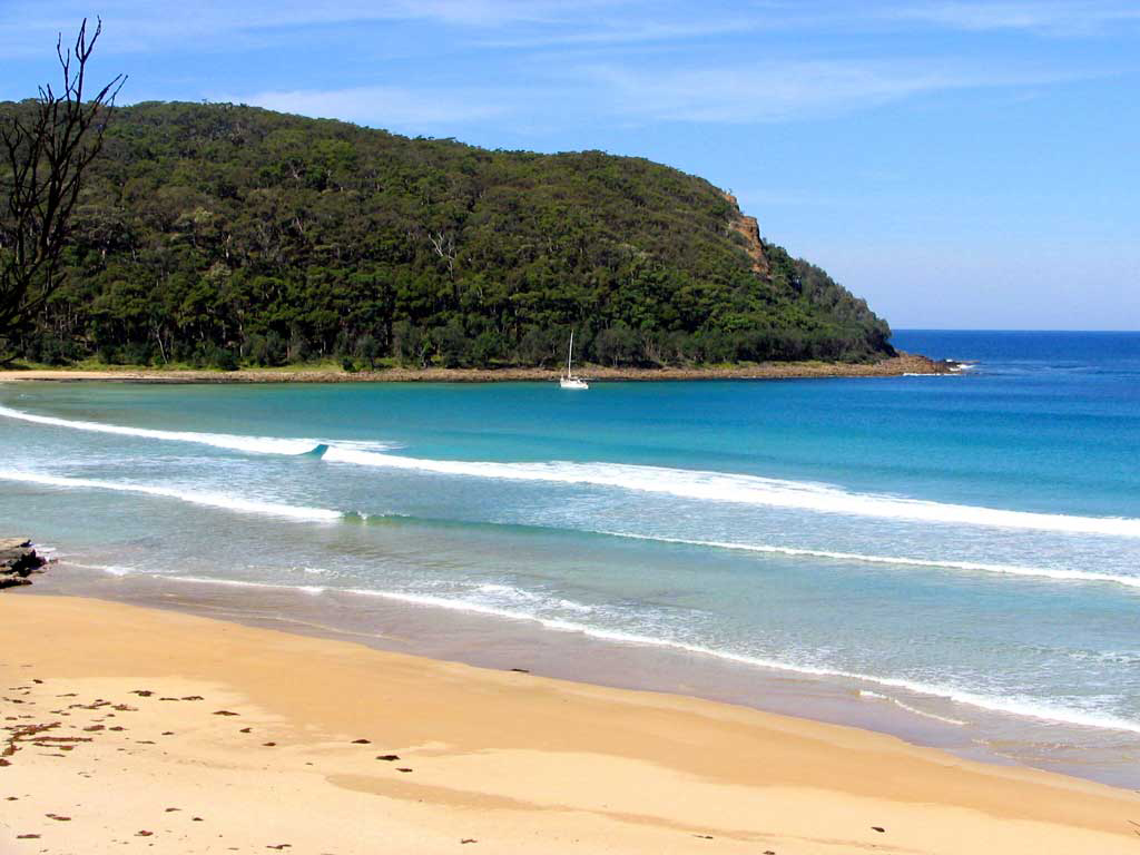 Пляж Бурнда в Австралии, фото 1