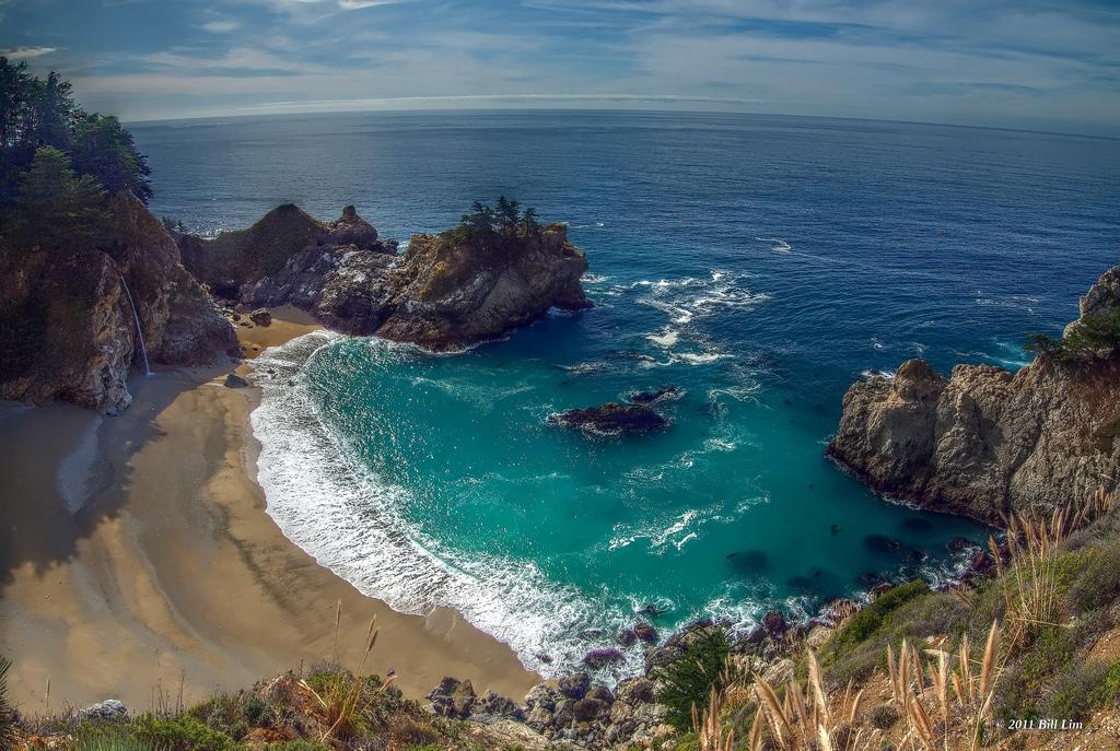 Пляж Джулия Пфайфер в США, фото 2
