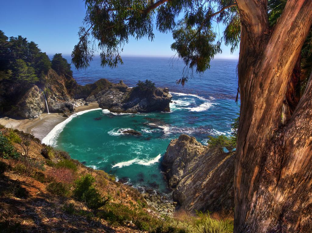 Пляж Джулия Пфайфер в США, фото 3