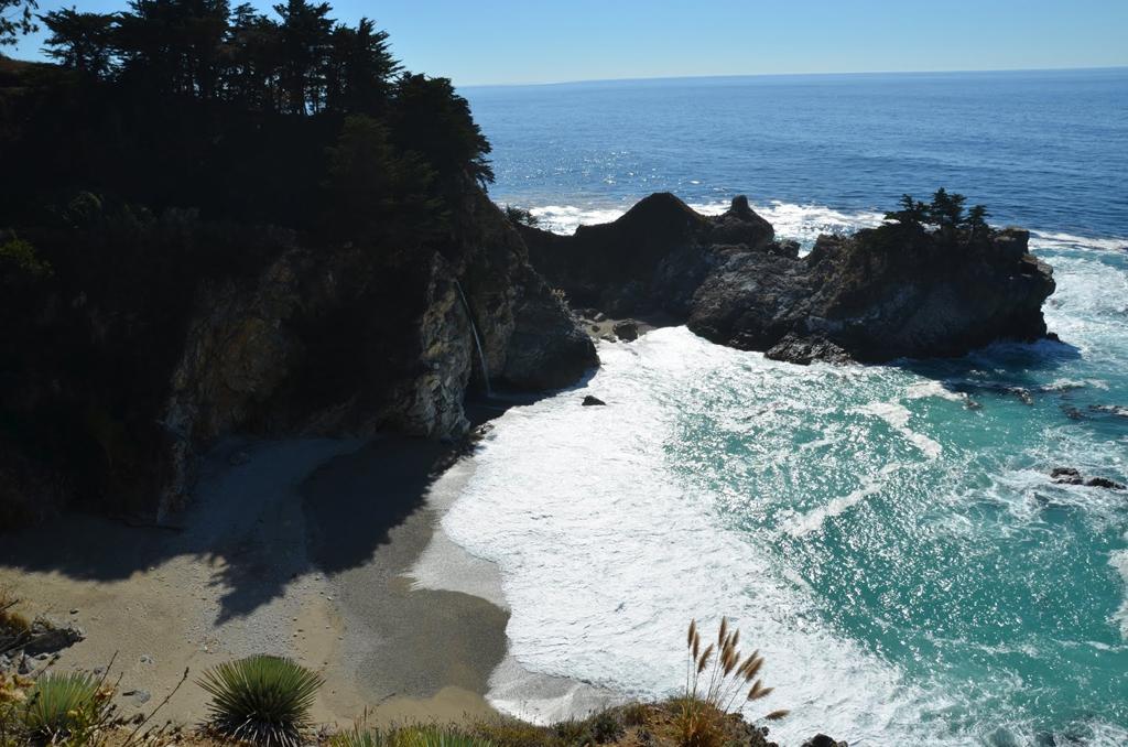 Пляж Джулия Пфайфер в США, фото 6