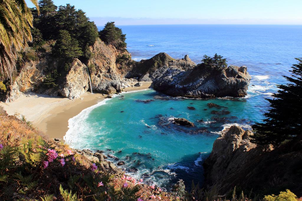 Пляж Джулия Пфайфер в США, фото 7