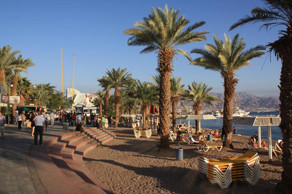 Пляж Эйлат в Израиле, фото 7